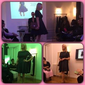 Ma Chouchou, la robe en jean façon année 50/60 très pin-up <3